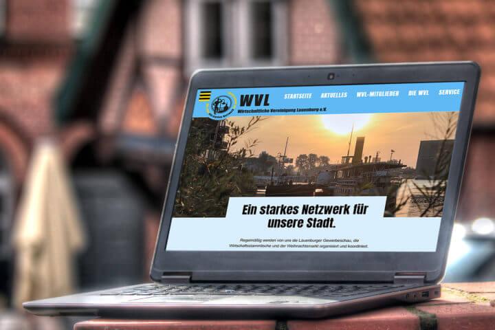 Der neue Internetauftritt der WVL